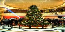 Christmas tree lighting ceremony held at Damascus-based Dama-Rose Hotel