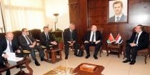 Syria, Belarus discuss enhancing cooperation in transport and investment fields