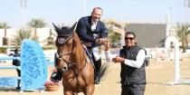 Advanced results for Syrian riders at Sharjah International Show Jumping Championship