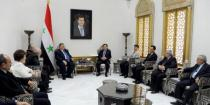 Syria, DPRK discuss developing parliamentary relations