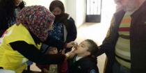 Polio vaccination campaign in Hasaka