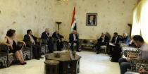 Head of Italian parliamentary delegation: Syria faces multiple terrorism