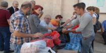 Aid from Armenia distributed at Armenian Orthodox Diocese in Damascus