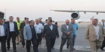 Premier Khamis inspects preparations at Damascus International Airport for Damascus International Fair