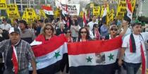 Protests against tripartite aggression on Syria break out in US cities-