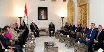 People's Assembly Speaker to Russia Ambassador: Russia's support to Syria helps make strategic achievements