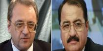 Bogdanov and Syrian Ambassador discuss upcoming Astana talks