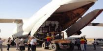 New WFP aid shipment arrives in Hasaka via air bridge