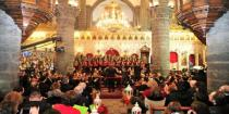 Start of Christmas holiday season announced at al-Zeitoun Church