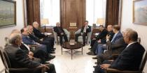 President al-Assad stresses need of boosting pan-Arab sentiment to face projects plotted against the region
