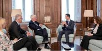 President al-Assad: Some Western governments continue to support terrorist organizations in Syria
