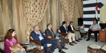 Homs governor, UNHCR discuss enhancing joint cooperation