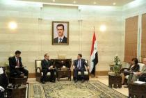 Prime Minister to DPRK Foreign Minister: Syria is on its way to achieve stability