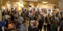 "Paintings with hallmarks of Syrian and Arab artists at ""Candles of Peace 43exhibition"