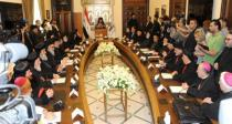 Final statement of Patriarchs of Antioch's meeting calls for unity among Christians, preserving Syria's unity