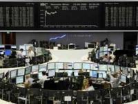 European shares rising