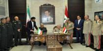 Syria, Iran ink MoU on broadening and developing military cooperation