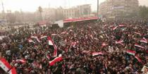 Mass celebration on anniversary of Aleppo's victory over terrorism