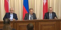 Russian-Turkish-Iranian meeting held in Moscow… Lavrov: we will continue to combat ISIS and al-Nusra