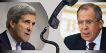Lavrov, Kerry discuss means of settling crisis in Syria