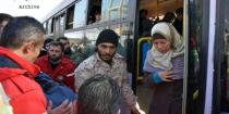 5 medical cases evacuated from Kafraya and al-Fouaa along with their families