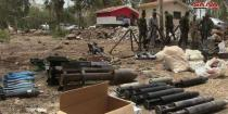 Weapons and ammo seized in Homs northern countryside