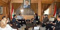 Aleppo governor, Indonesian delegation discuss cooperation in reconstruction field