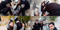 Israeli entity smuggles 800 members of �White Helmets� from southern Syria to Jordan