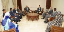 President al-Assad stresses importance of intellectual dialogue among parliaments and parties