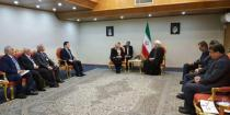 Rouhani affirms to Abbas that Iran will continue supporting Syria in various fields