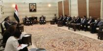 Premier Khamis stresses engineers' key role in the process of rebuilding Syria