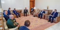 Presidents al-Assad and Bibilov affirm importance of launching bilateral relations between Syria and South Ossetia