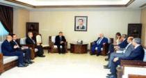 Al-Moallem discusses means of enhancing cooperation with UNDP Regional Director