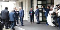 Syrian Arab Republic delegation holds session of talks with de Mistura