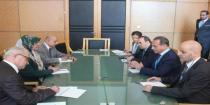 Health Minister discusses enhancing cooperation with his Belarusian and Iraqi counterparts
