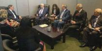Al-Moallem meets Venezuelan and Cuban Foreign Ministers, affirms Syria's solidarity with their countries against US threats