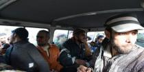 Army frees 8 abductees who were held inside Ghouta, 10 buses transporting around 632 militants and their family members arrive at Erbin in preparation for their exit from Ghouta