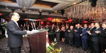Reception ceremony celebrating 68th anniversary of establishing People's Republic of China