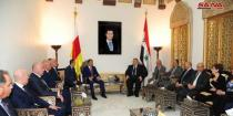 South Ossetia's President concludes his visit to Syria: Enhance aspects of cooperation with Damascus