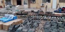 Authorities find weapons, US-made ammo left behind Daesh in Deir Ezzor