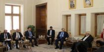 Mikdad, Zarif discuss developments and issues of mutual interest