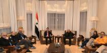 Tourism Minister to Italian medical delegation: Syrians' will to live will rebuild the country