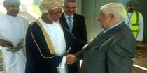 Al-Moallem arrives in Muscat to discuss regional developments, relations