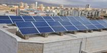 Solar power project with capacity of 140 kW-h launched in Qudsaya Suburb