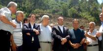 Government delegation inspects projects in Lattakia