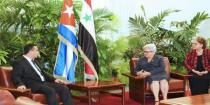 Cuba reiterates its positions in support of Syria in its war against terrorism