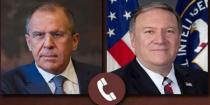 Lavrov, Pompeo discuss resolving crisis in Syria