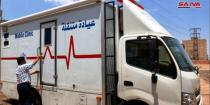Two mobile clinics arrive in Deir Ezzor to enhance health services