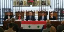 Symposium in Solidarity with Syria in facing terrorism held