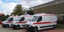 Czech sends three modern ambulances to Syrian people